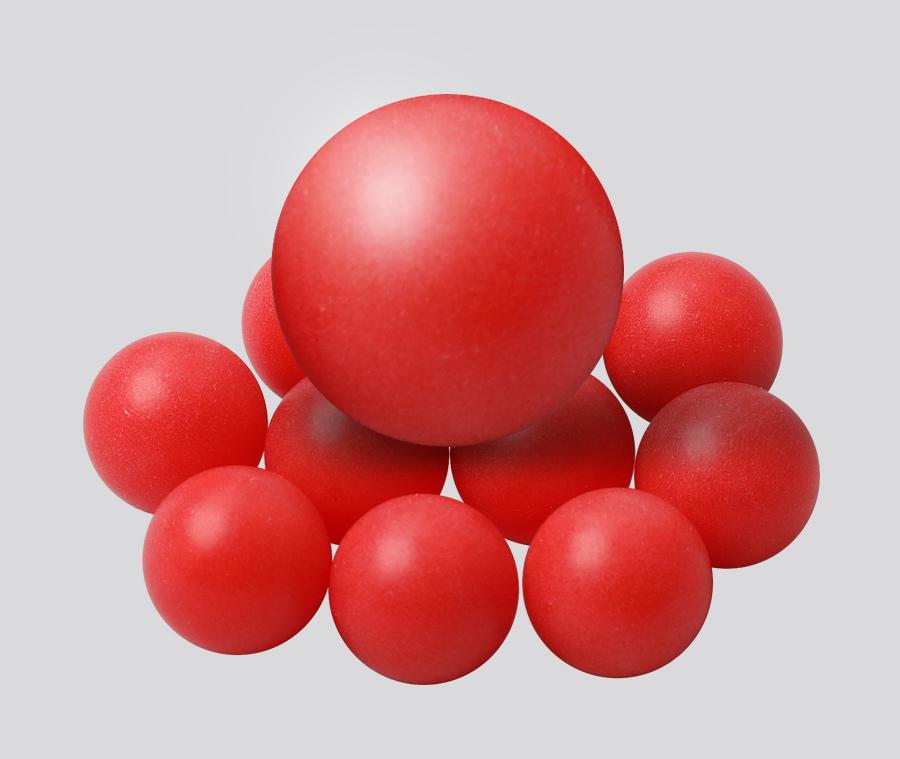 PP塑料球 滑轨实心塑料珠